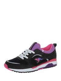 "Kangaroos Sneakers ""Dynafit"" in Schwarz/ Pink/ Lila"