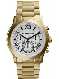 """Michael Kors Chronograph """"Cooper"""" in Gold/ Weiß"""
