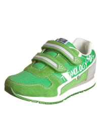 "Swissies Sneakers ""Alvin"" in Grün/ Hellgrau"