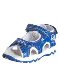 "Swissies Sandalen ""Garfi"" in Blau/ Weiß"