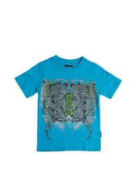 "Pacino Shirt ""Drageon"" in Hellblau/ Grau"