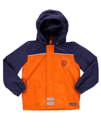 "Legowear Funktionsjacke ""Jussi"" in Orange/ Dunkelblau"