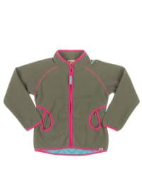 """Legowear Fleecejacke """"Sandy"""" in Khaki/ Pink"""