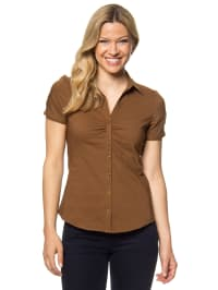 More & More Bluse in Braun