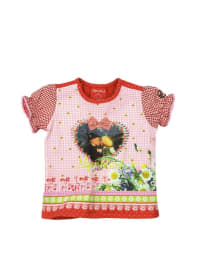 "Bondi Shirt ""Alpenglück"" in Rosa/ Rot/ Bunt"