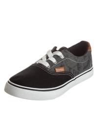 DOCKERS Sneaker in Grau/ Schwarz