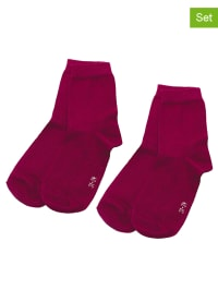 Ewers 4er-Set: Socken in Dunkelrot