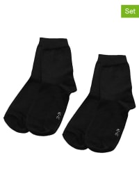 Ewers 4er-Set: Socken in Schwarz