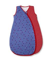 Sterntaler Sommerschlafsack in Rot/ Blau