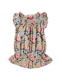 Kanz Kleid in Beige/ Bunt