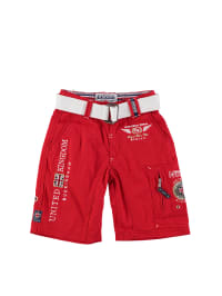 "Geographical Norway Bermudas ""Pastrami"" in Rot"