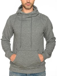 "Geographical Norway Kapuzenpullover ""Griffe"" in Grau"
