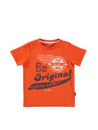 "Name it Shirt ""Visti"" in Orange/ Creme/ Dunkelblau"