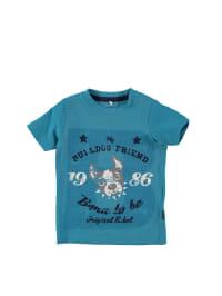 "Name it Shirt ""Visti"" in Blau/ Creme/ Dunkelblau"