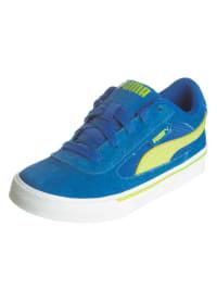 Puma Sneakers in Blau/ Gelb