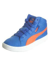 Puma Sneakers in Blau/ Orange