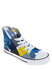 """Color Kids Sneakers """"Baft"""" in Blau/ Bunt"""