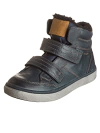 Gabor Kids Leder-Sneakers in Dunkelblau