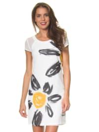 """Desigual Kleid """"White"""" in Weiß"""