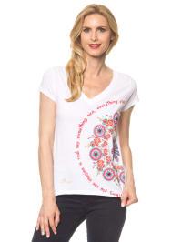 "Desigual Shirt ""Orgu"" in Weiß/ Bunt"