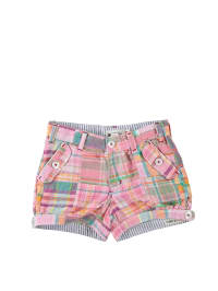 "Hatley Shorts ""New Madras"" in Rosa/ Bunt"
