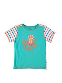 "Hatley Shirt ""Sea Creatures"" in Grün/ Bunt"