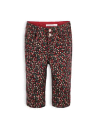 "TroiZenfants Stoffhose ""Jill"" in Anthrazit/ Rot"