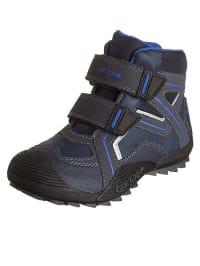 """Geox Boots """"Savage"""" in Dunkelblau/ Schwarz"""