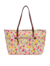 """Pink Lining Wickeltasche """"Notting Hill Tote"""" in Creme/ Bunt - (B)46 x (H)42 x (T)17 cm"""