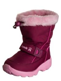 """Kamik Winterboots """"Donner"""" in Beere/ Rosa"""