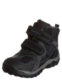 """Geox Boots """"Alaska B"""" in Schwarz/ Anthrazit"""