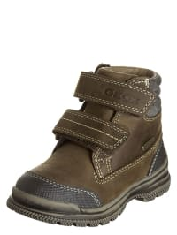 "Geox Leder-Boots ""William"" in Hellbraun"