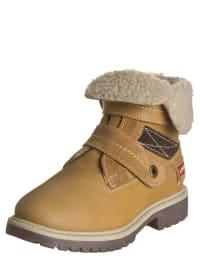 "Levi´s Leder-Boots ""Pacific"" in Beige"