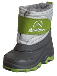 "Elementerre Winterstiefel ""Albox"" in Anthrazit/ Grün"
